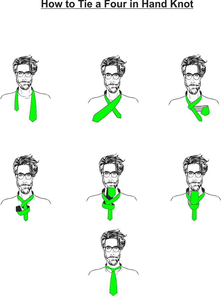 how to tie a tie  u2014 learning about the 5 whatknots