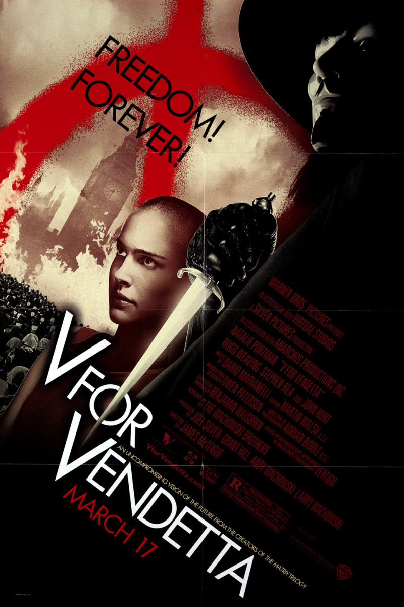 12 Intriguing Dystopian Movies Like V for Vendetta