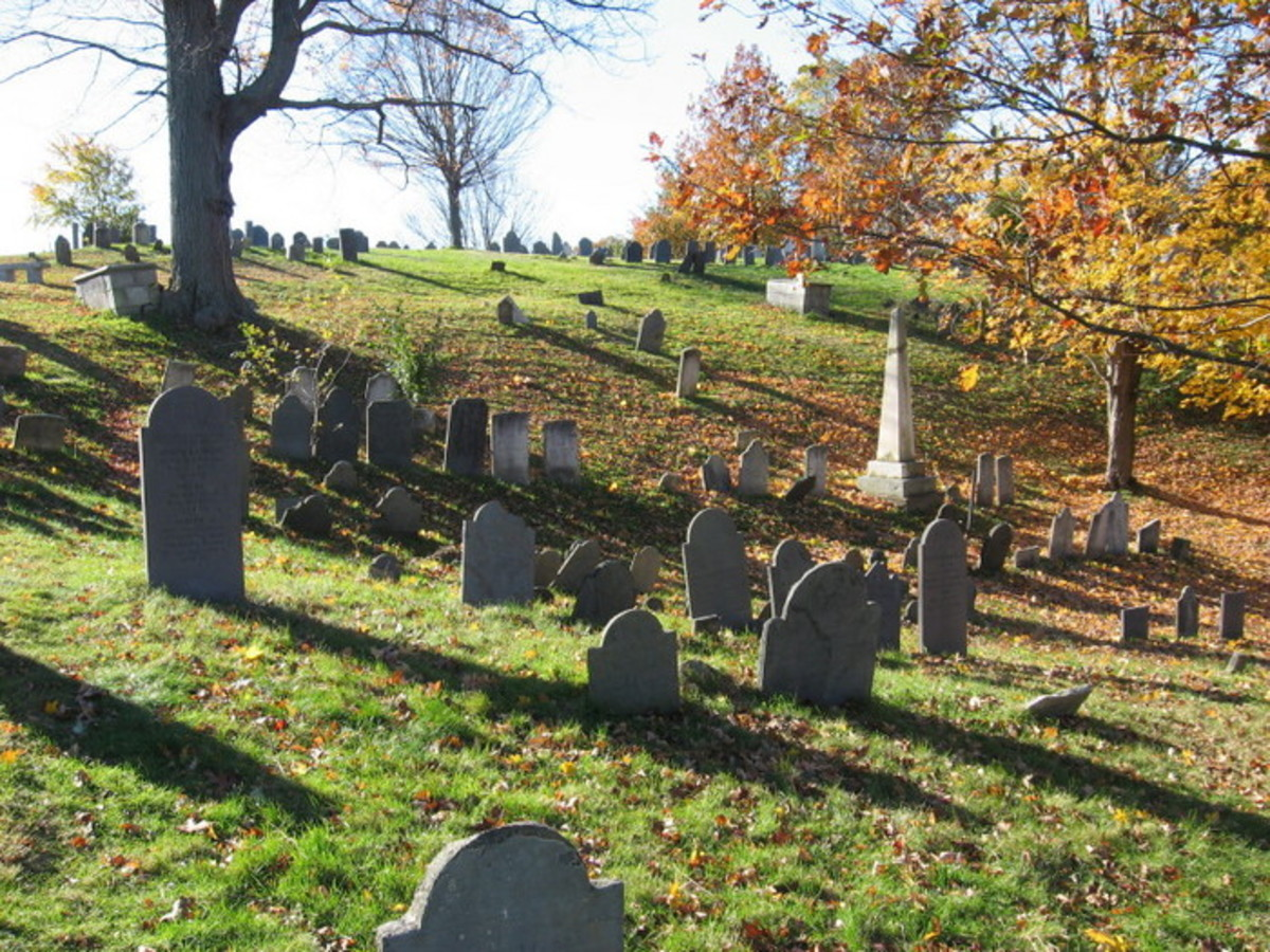 Haunted Cemeteries in Massachusetts - Part Two