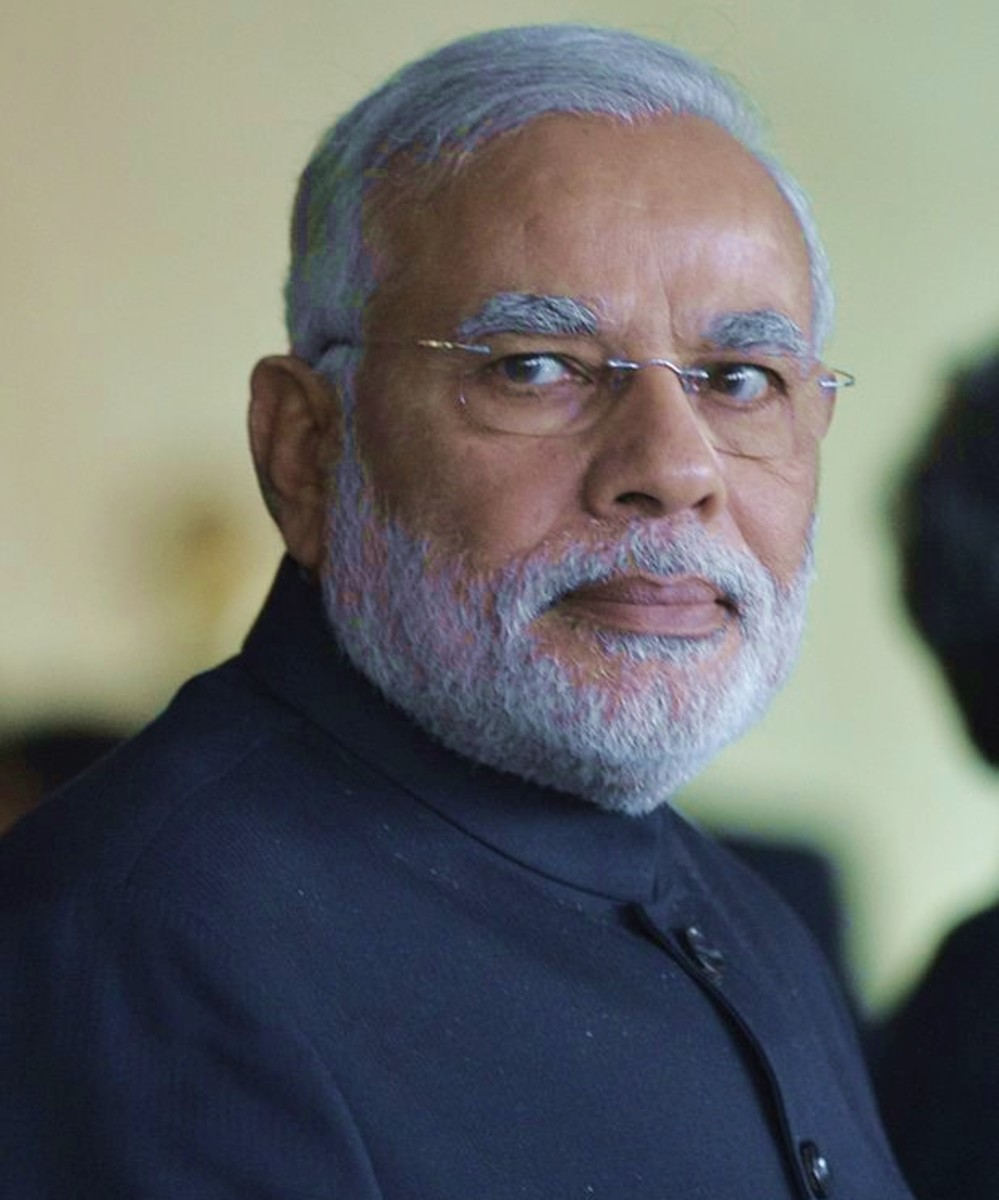 Narendra Modi Face Reading
