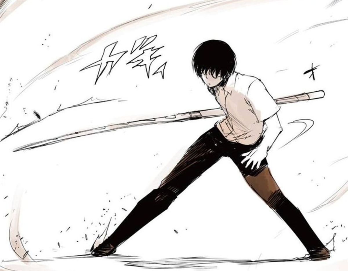 Young Arima using the quinque Yukimura 1/3.
