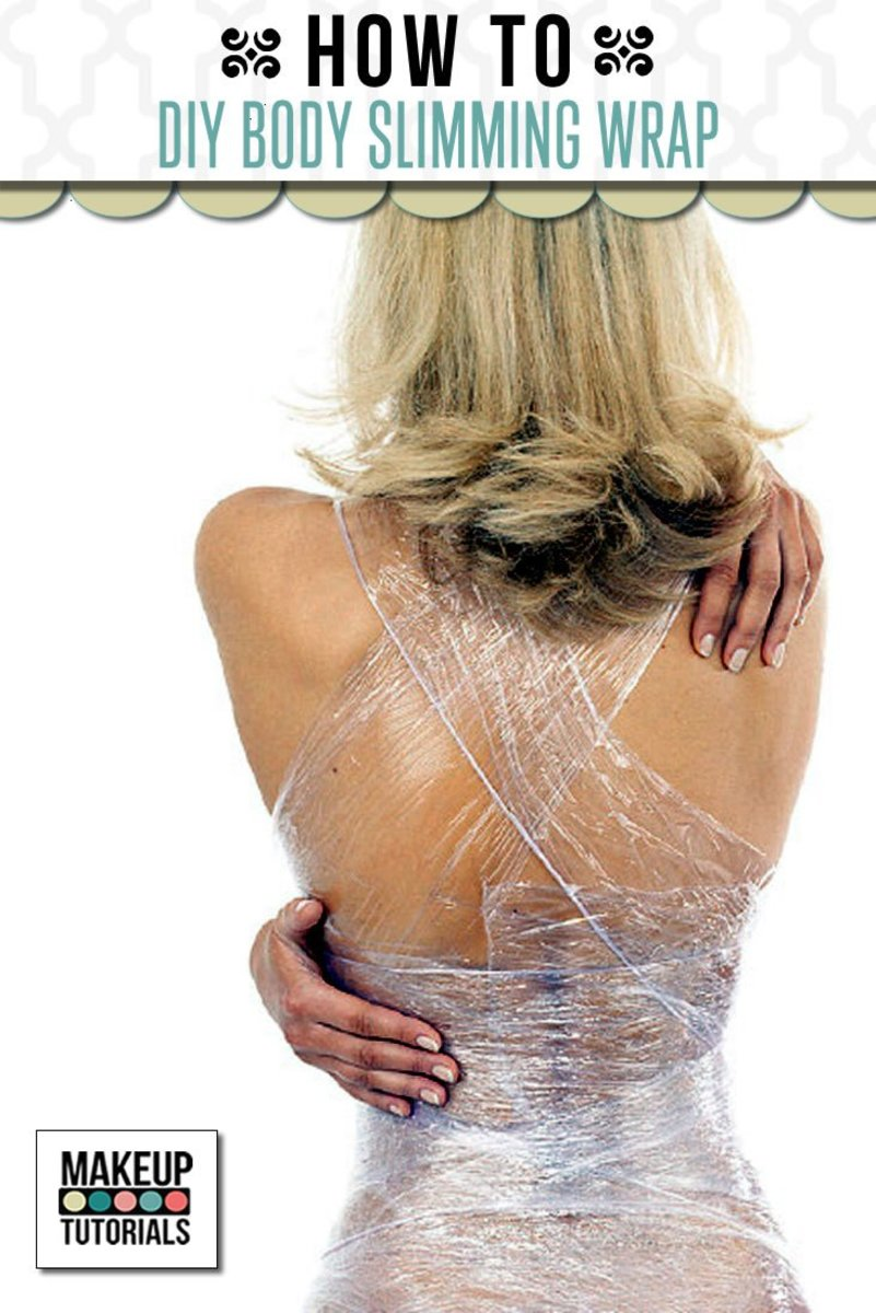 DIY: Slimming Body Wraps That Aid In Weight Loss And Burn Fat