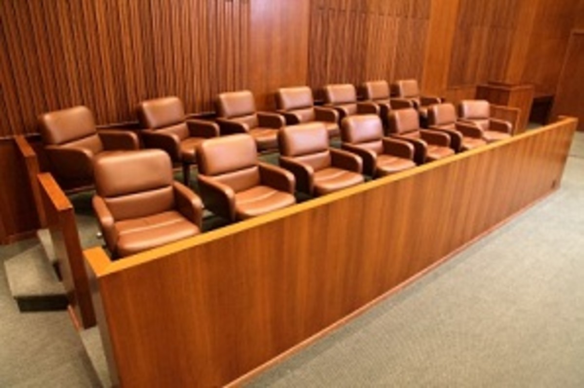 Would courtrooms remain like this if we were given the option of volunteering for jury duty?