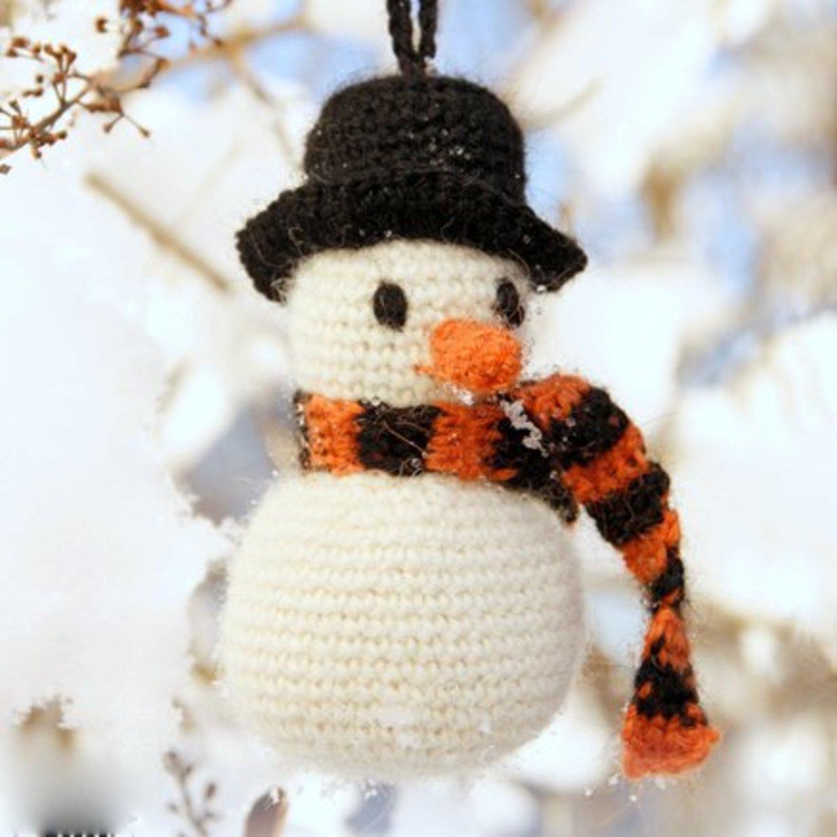 25 Free Amigurumi Snowman Crochet Patterns Hubpages