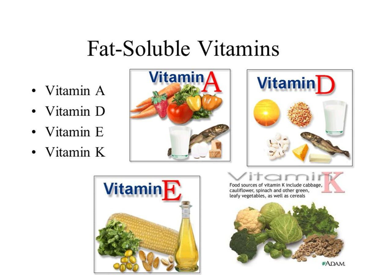 fat and watersoluble vitamins essay