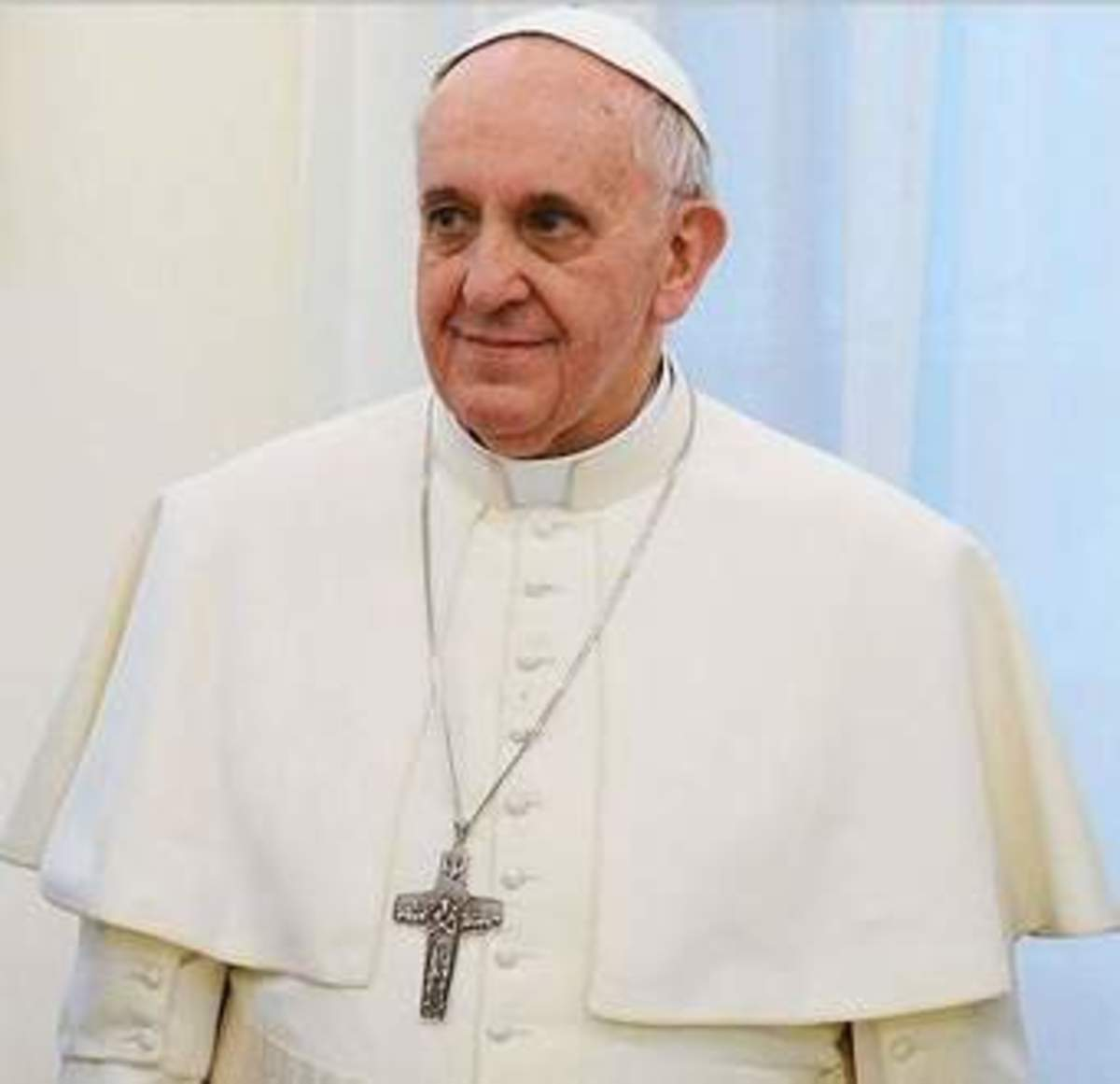 I believe that Pope Francis is a different pope he is a bit of a risk taker. he even brings into the churches people that belong to different religions.