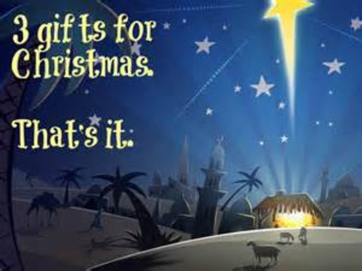 The star guided the people to visit baby Jesus and many people brought many gifts.