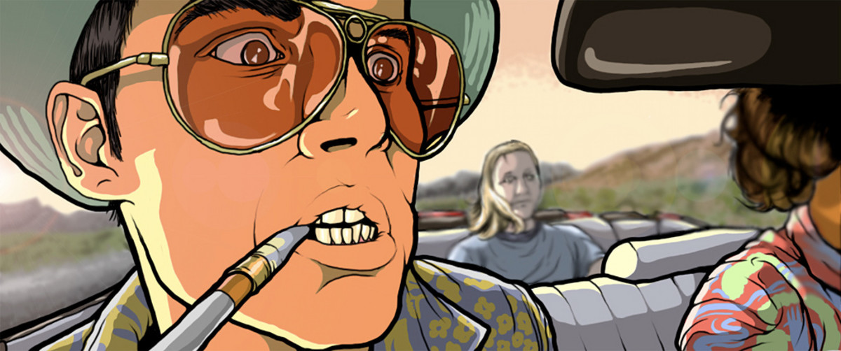 Fear and Loathing in Las Vegas and Hunter S. Thompson