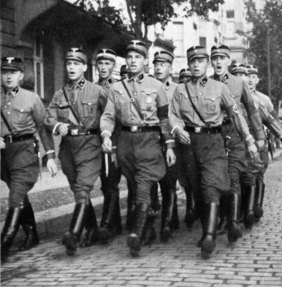 The strong arm of the Nazi party during their early years, next to Hitler himself, the Brownshirts were the face of Nazism ideology and brutality.