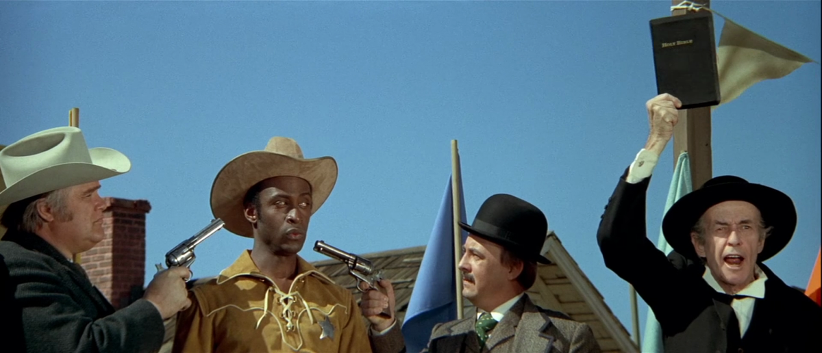 Blazing Saddles and