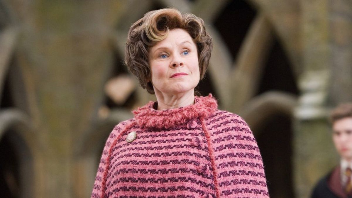 Dolores Umbridge, the most loathed character throughout the franchise, represents the most serious political interference at Hogwarts, even before Voldemort took over the Ministry