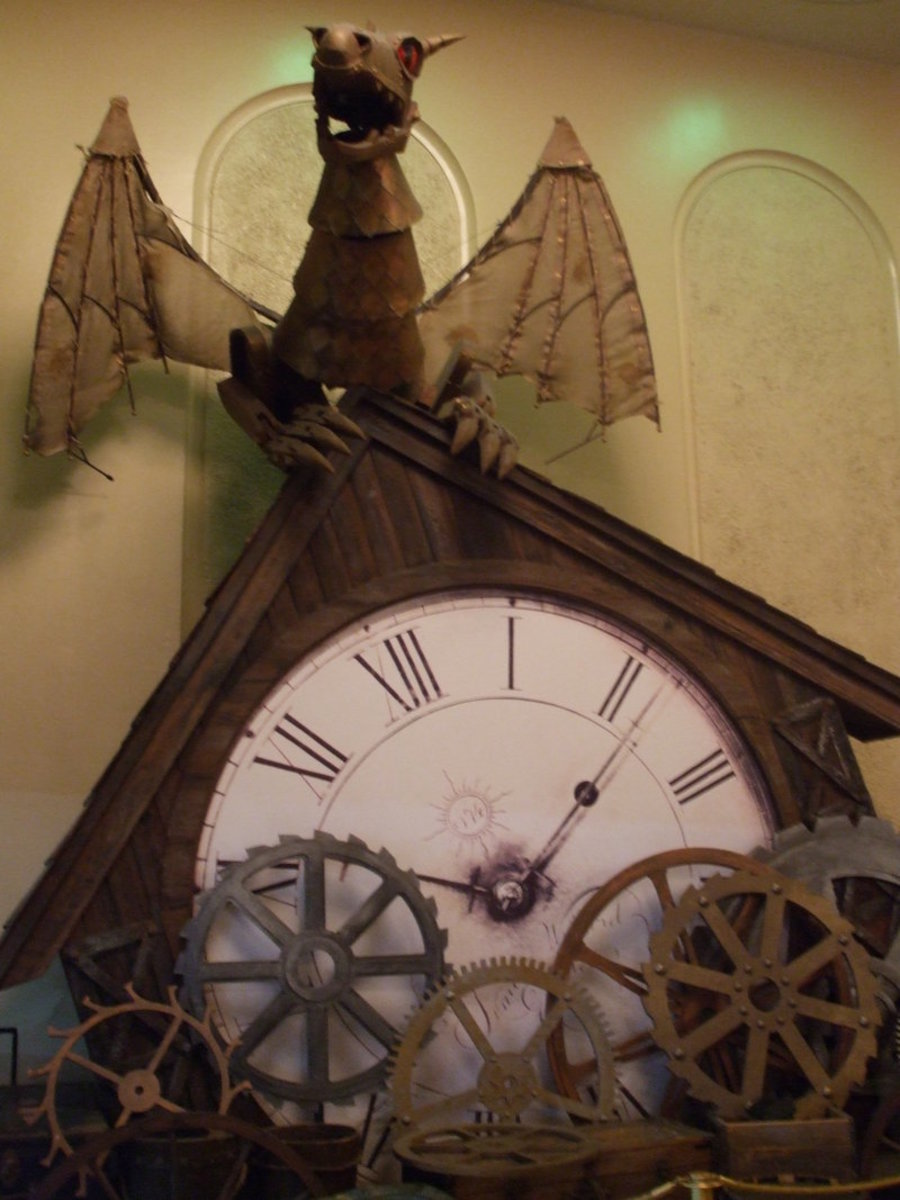 The Clock of the Time Dragon