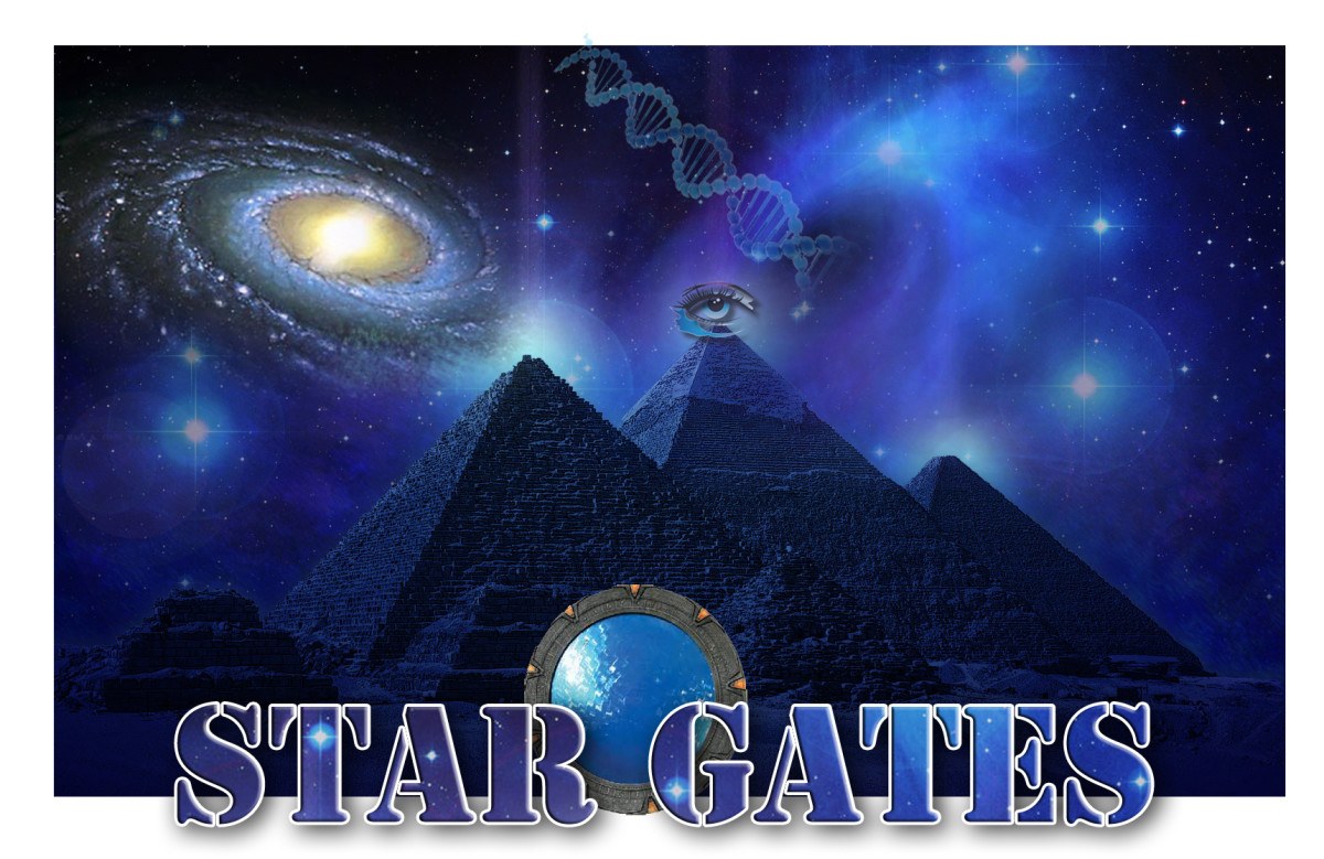 The Star Elders left many monuments for awakening civilizations to discover and use, once they reach the maturity to understand how to use them, the pyramids hold the secret of the stargates.