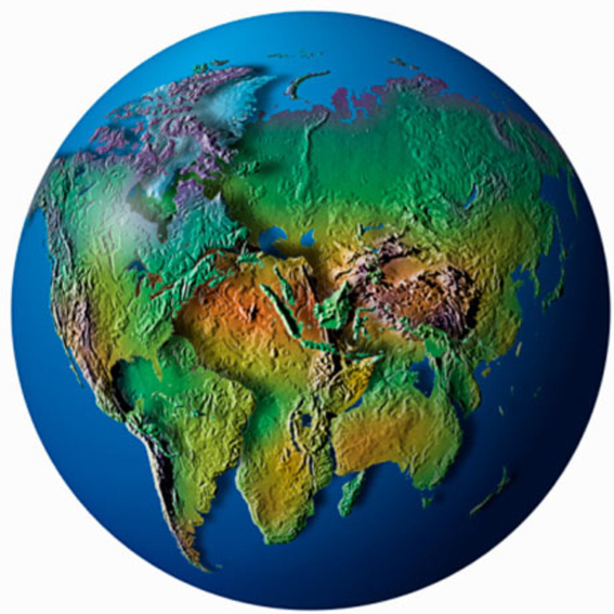 The Earth's first continent started as one relatively small land mass and only separated after eons of natural expansion through seismic events.