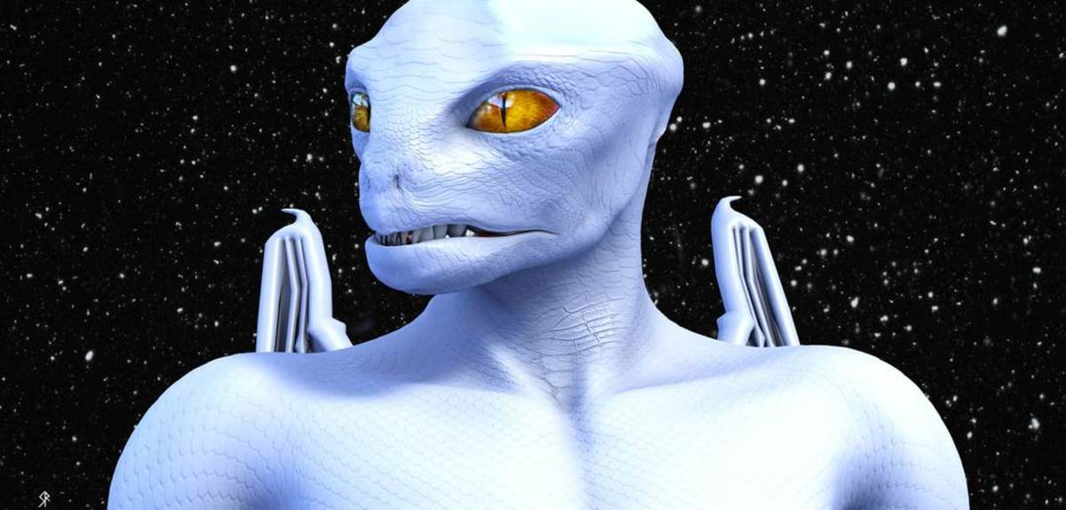 Known as White Royal Draco, this popular artist rendition of a Draco-Reptilian hybrid conjures an ancient dread in most humans.