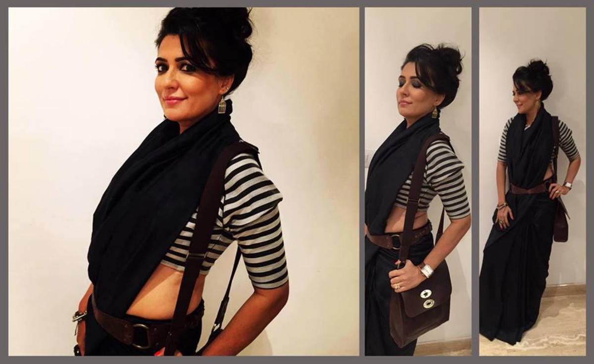 what-type-of-blouse-to-pair-with-black-saree