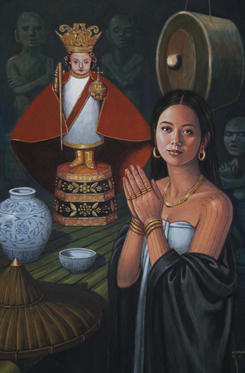 Queen Juana by Manuel Panares