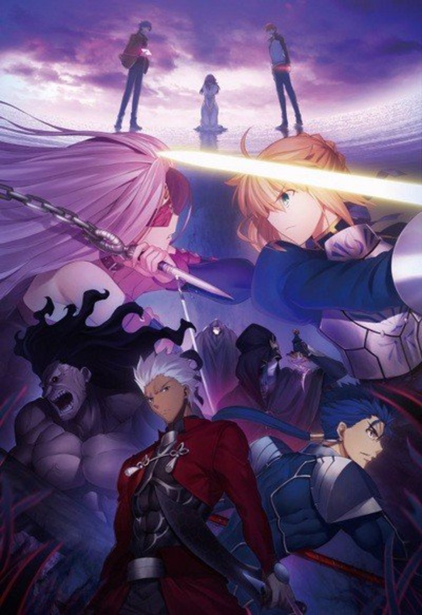 The only reason people care about the Fate anime outside of enjoying the visual novel is that Ufotable made it look pretty, it's pathetic.