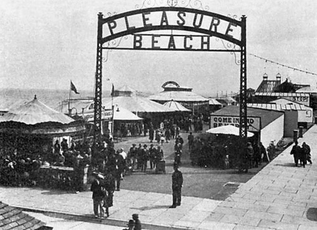History of The Pleasure Beach Great Yarmouth