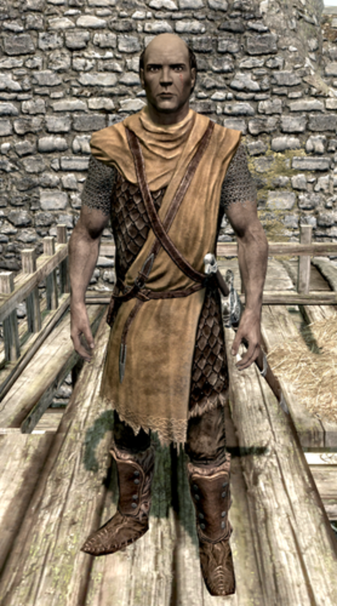Commander Caius, an Imperial general that resides in Whiterun.