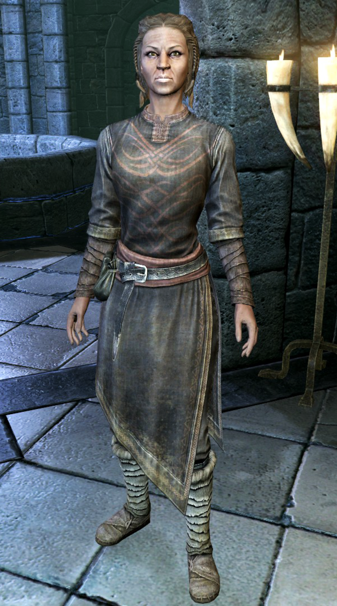Colette Marence, a professor at the College of Whitehold and a Breton.