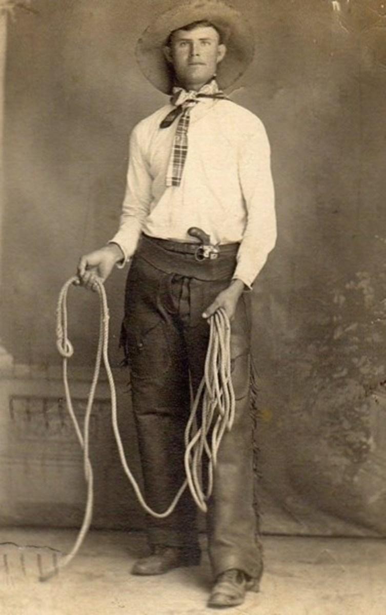 Vintage Cowboy Postcards