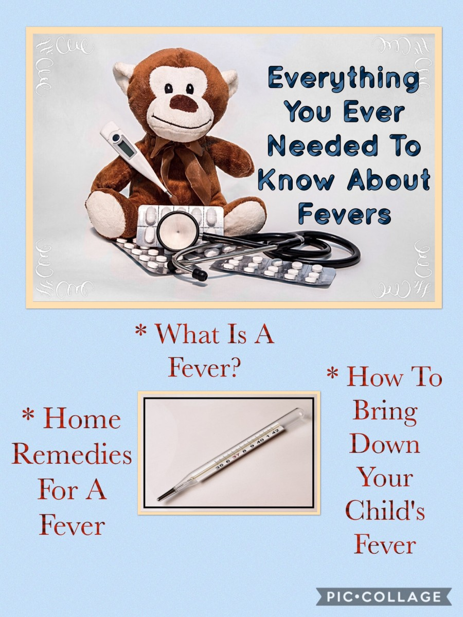 What should I do when my child has a high fever?