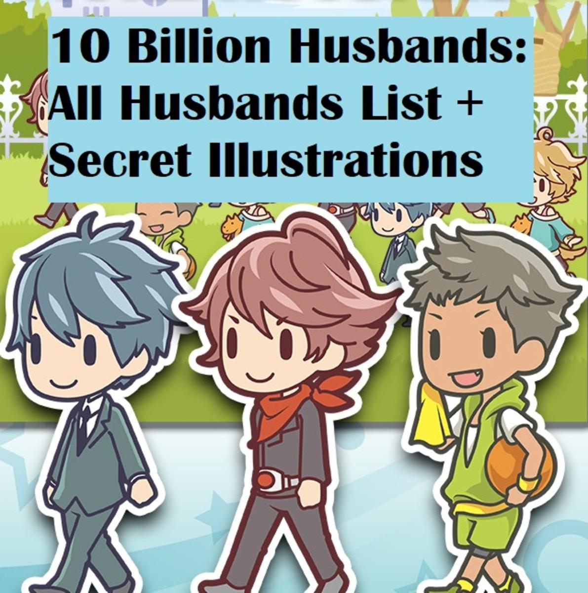 10 Billion Husbands: All Husbands List + Secret Illustrations