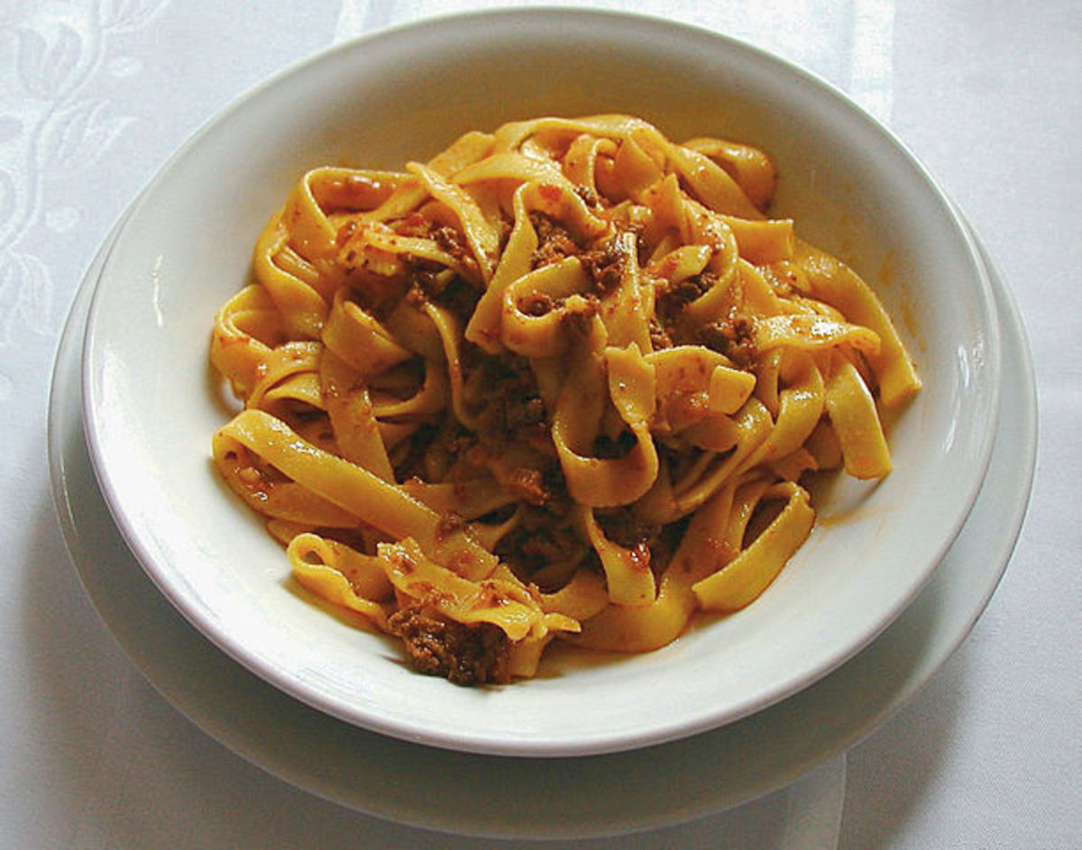 Bolognese Ragù From the Recipe Submitted on 17 October 1982