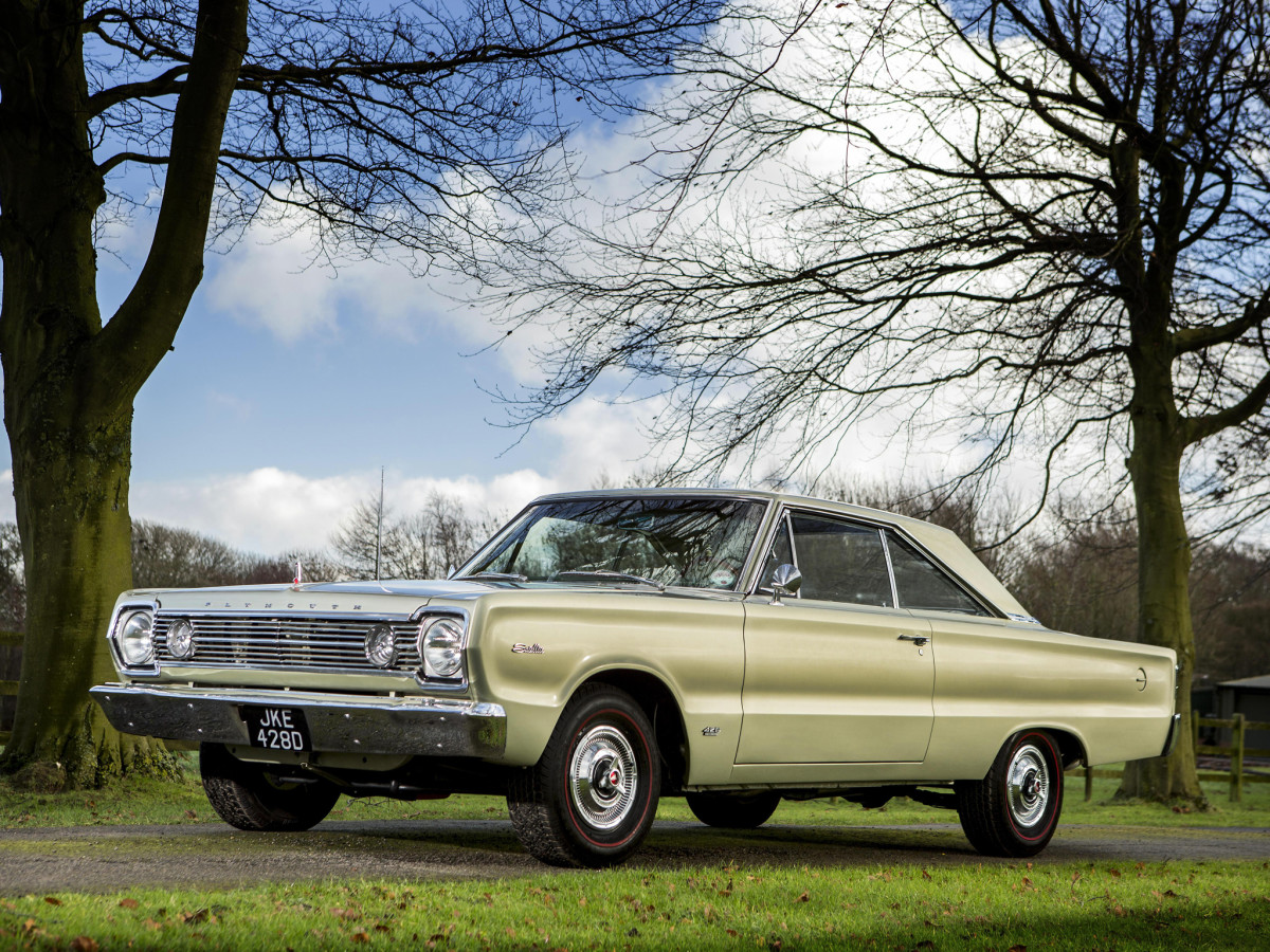 Plymouth's 426 cubic inch Hemi engine turned the Satellite into a screaming demon when pressure was applied to the gas pedal.