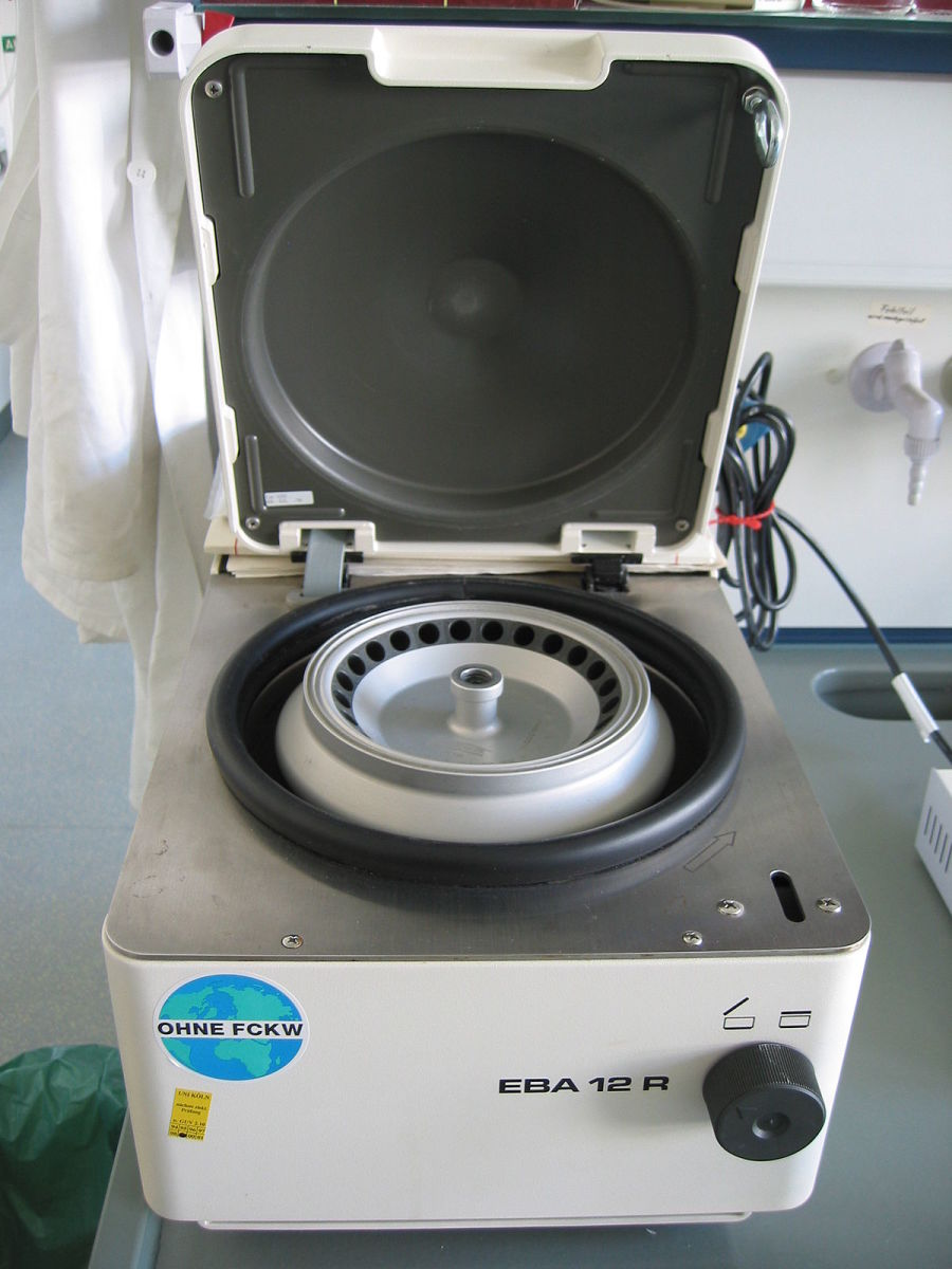 A centrifuge
