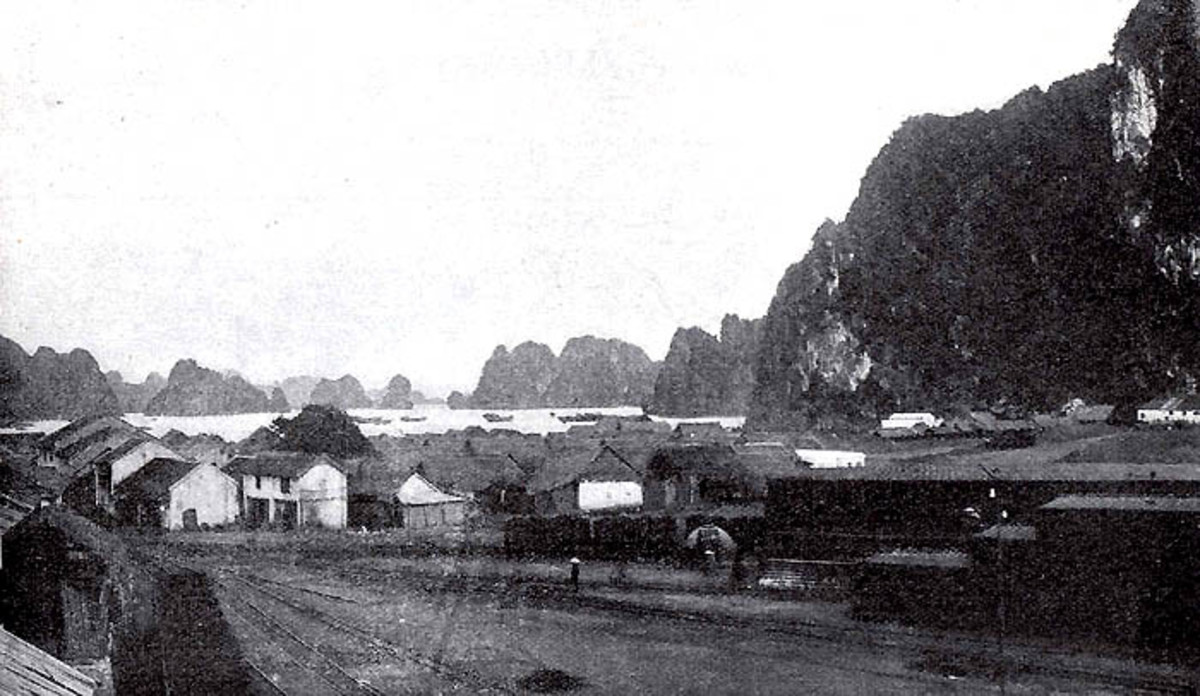 Indigenous village close to the mines