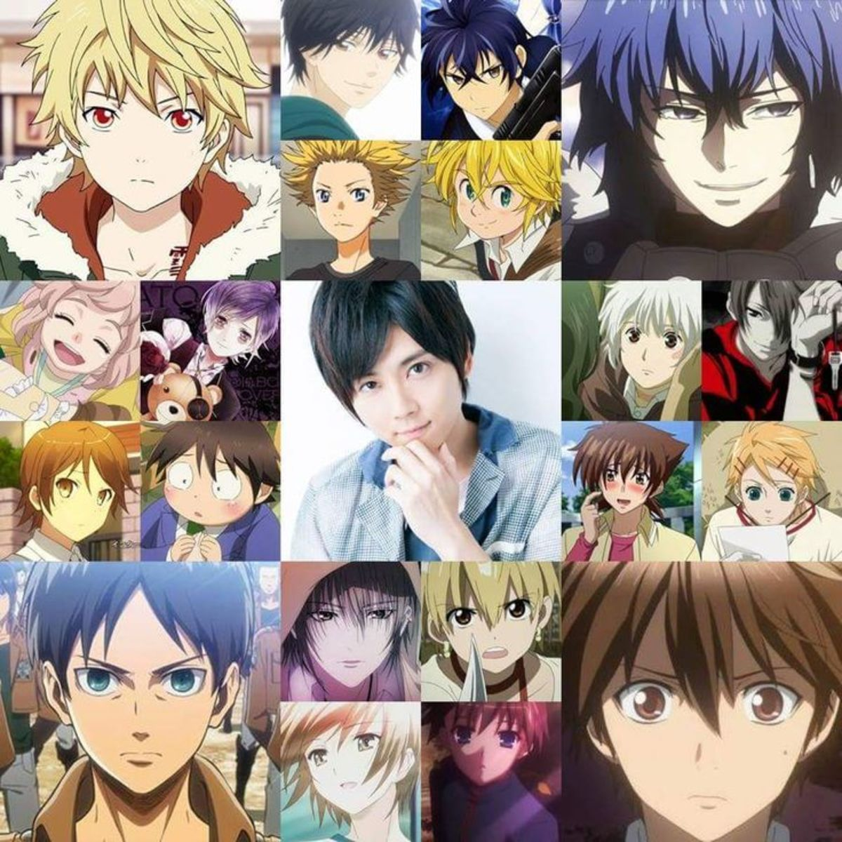 Yuki Kaji's voice actor roles.