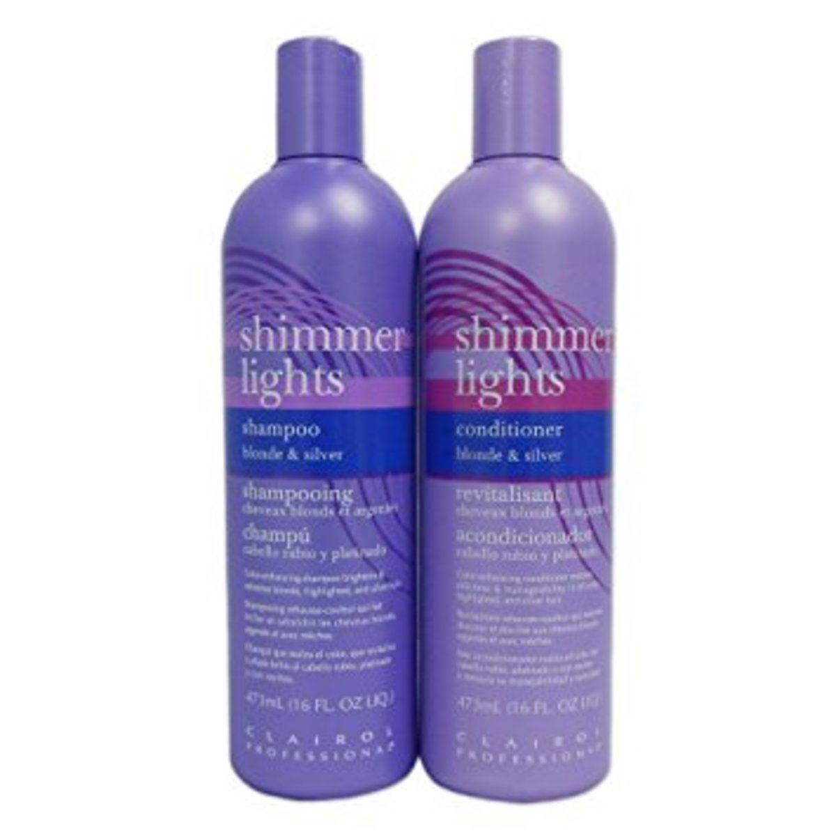This product is a staple so if you aren't sure what to choose. Look no further.  Clairol Shimmer Lights 16 oz. 9.99 - 25$