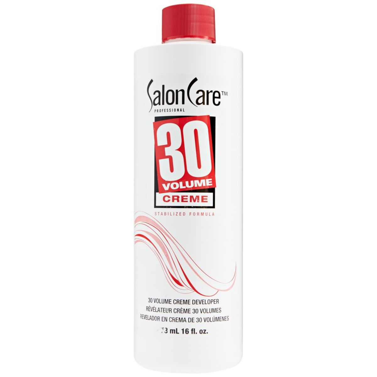 Salon Care Volume Creme Developer - 16oz  3.69$