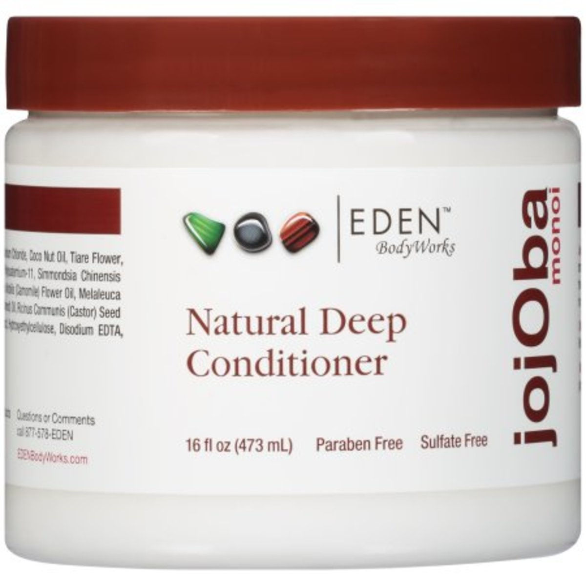 Eden BodyWorks Jojoba Monoi Deep Conditioner - 16oz  8.49$