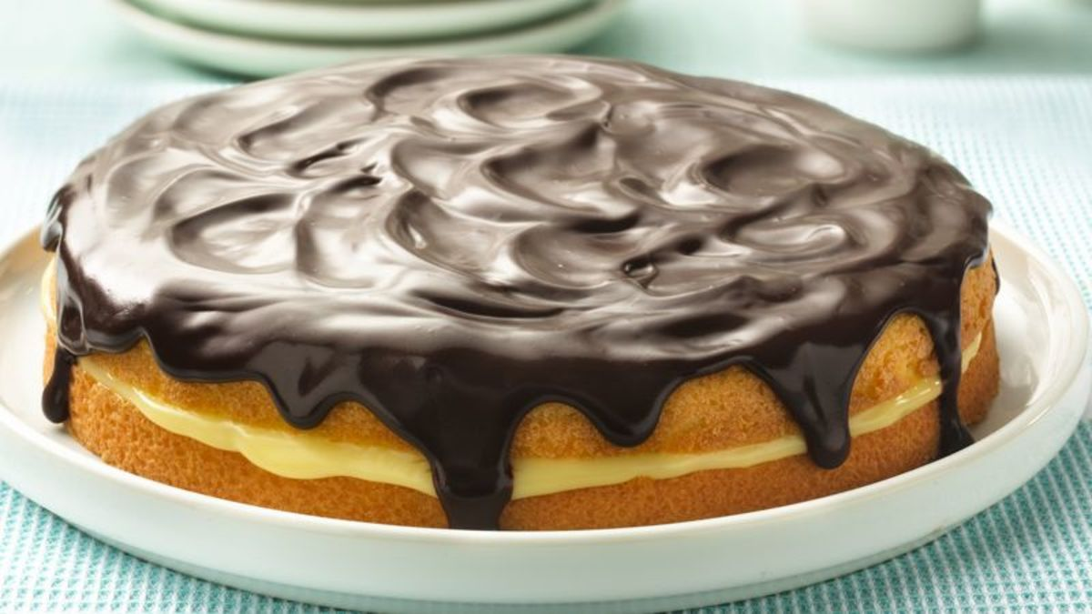 Now doesn't this look like a cake instead of a pie?