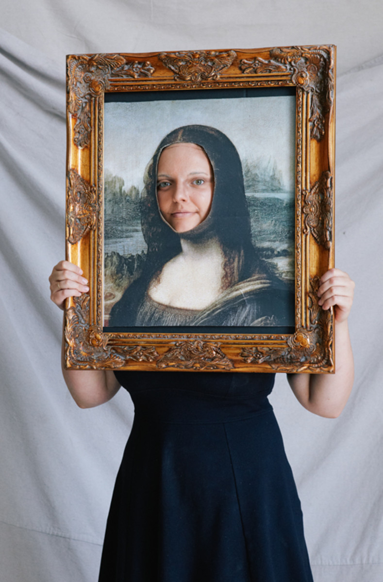 Dress up as the Mona Lisa Painting this Halloween