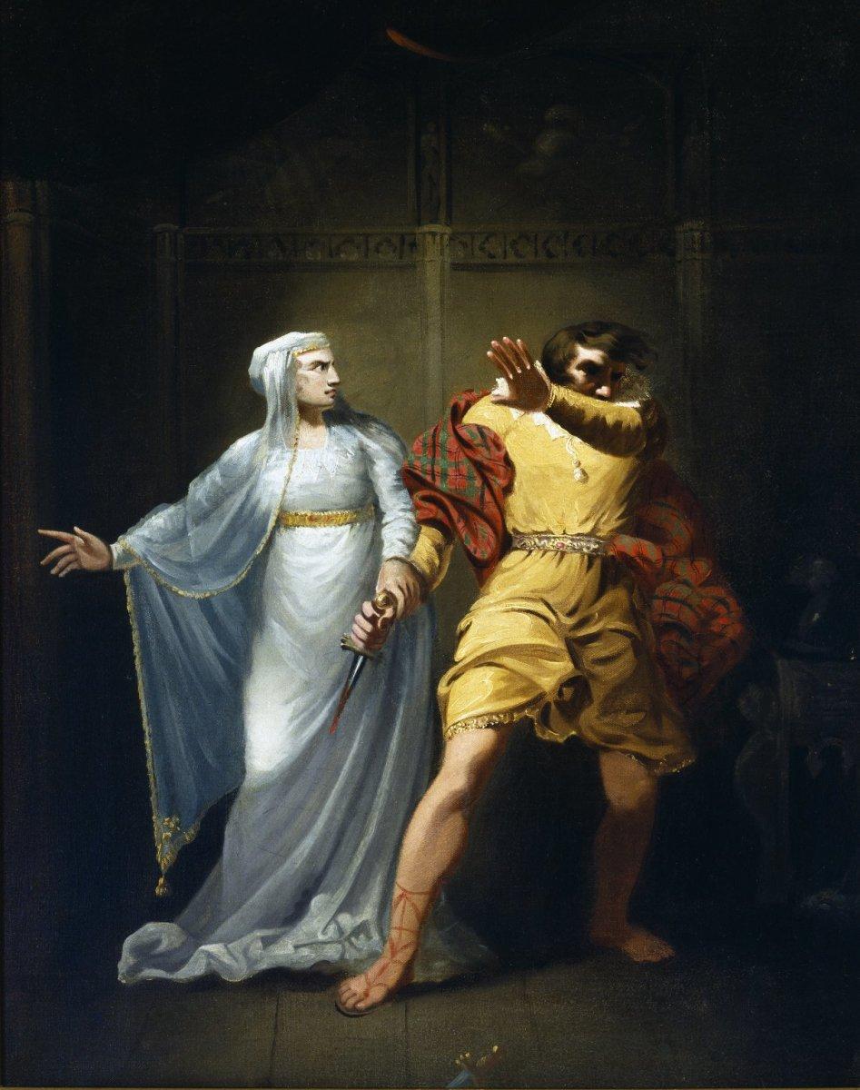 Sarah Siddons as Lady Macbeth        (Smirke, c. 1790-1810)