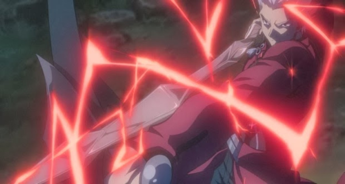 No matter who is animating Fate, ARCHER is still flashy.