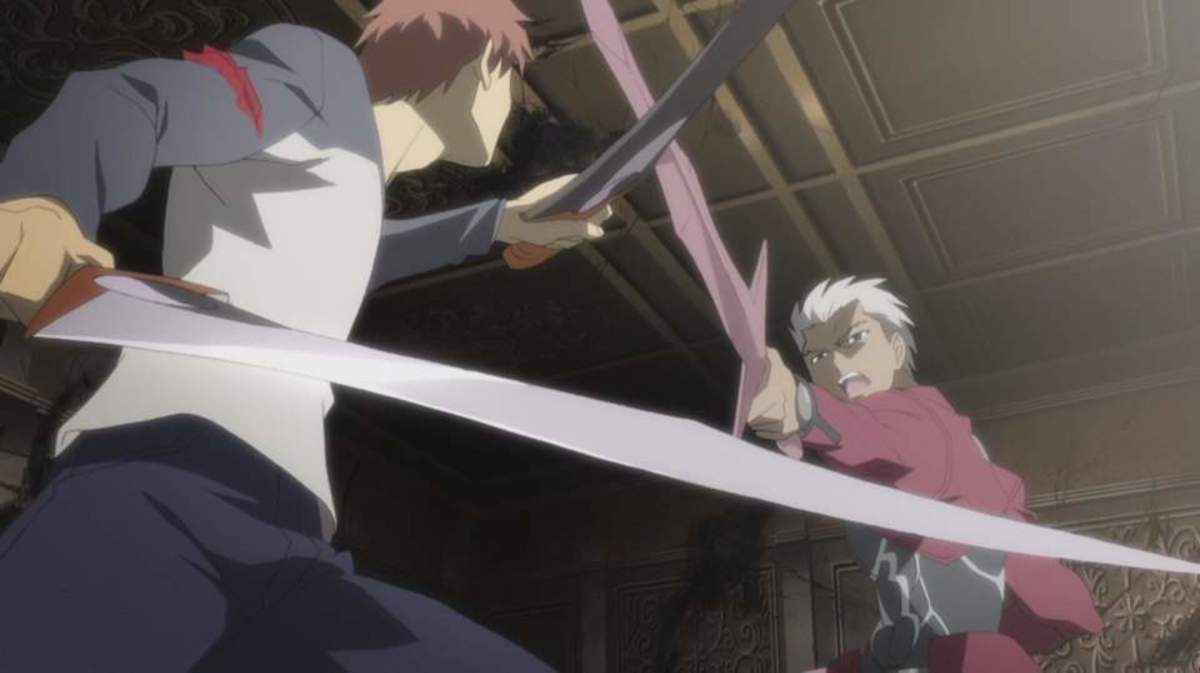 No matter what Ufotards say, DEEN has the better portrayal of this confrontation, sorry Ufotable, you dragged it out too much!