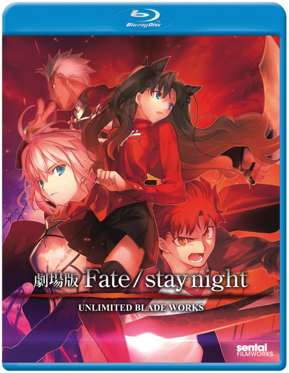 Anime Movie Review: Fate/Stay Night: Unlimited Blade Works (2010)
