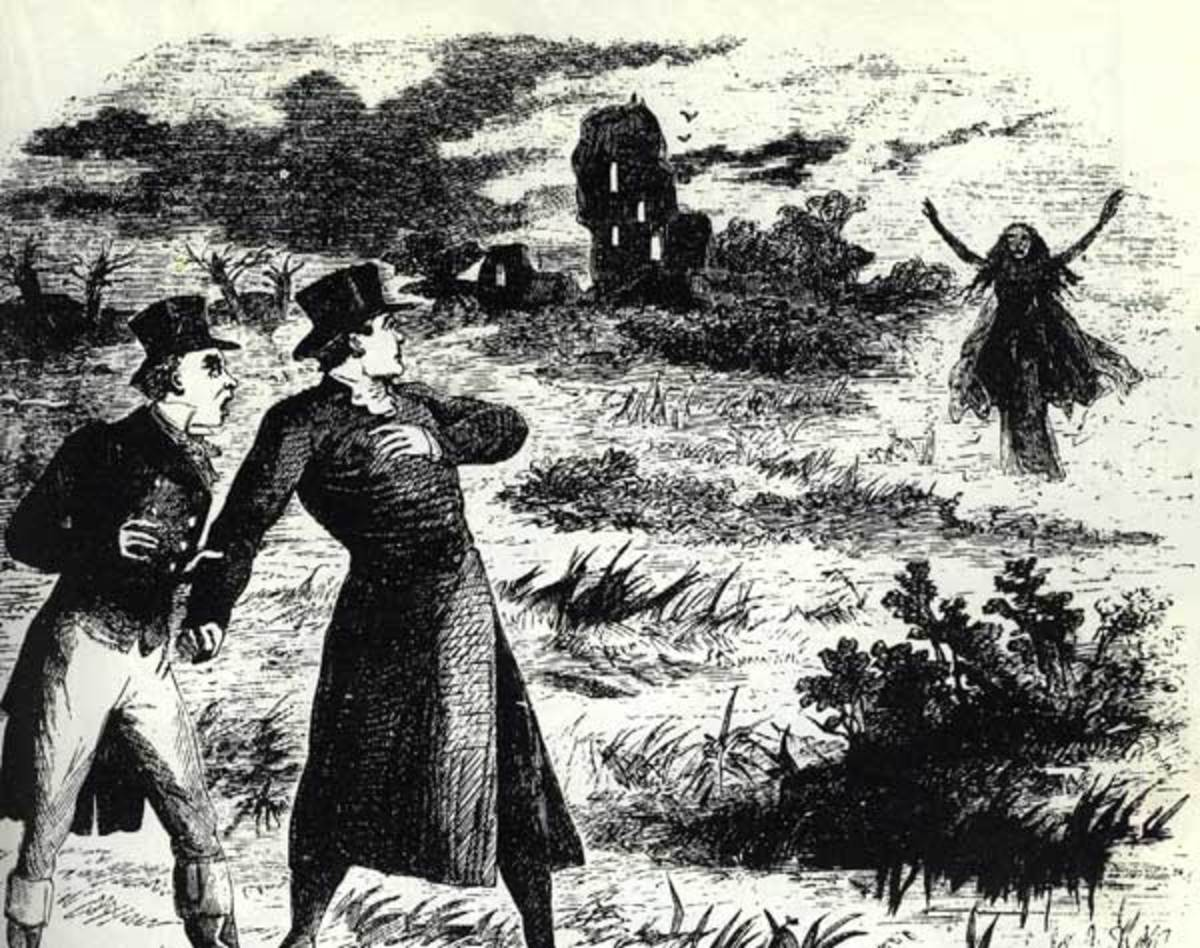 The Banshee Appears (R Prowse 1862)