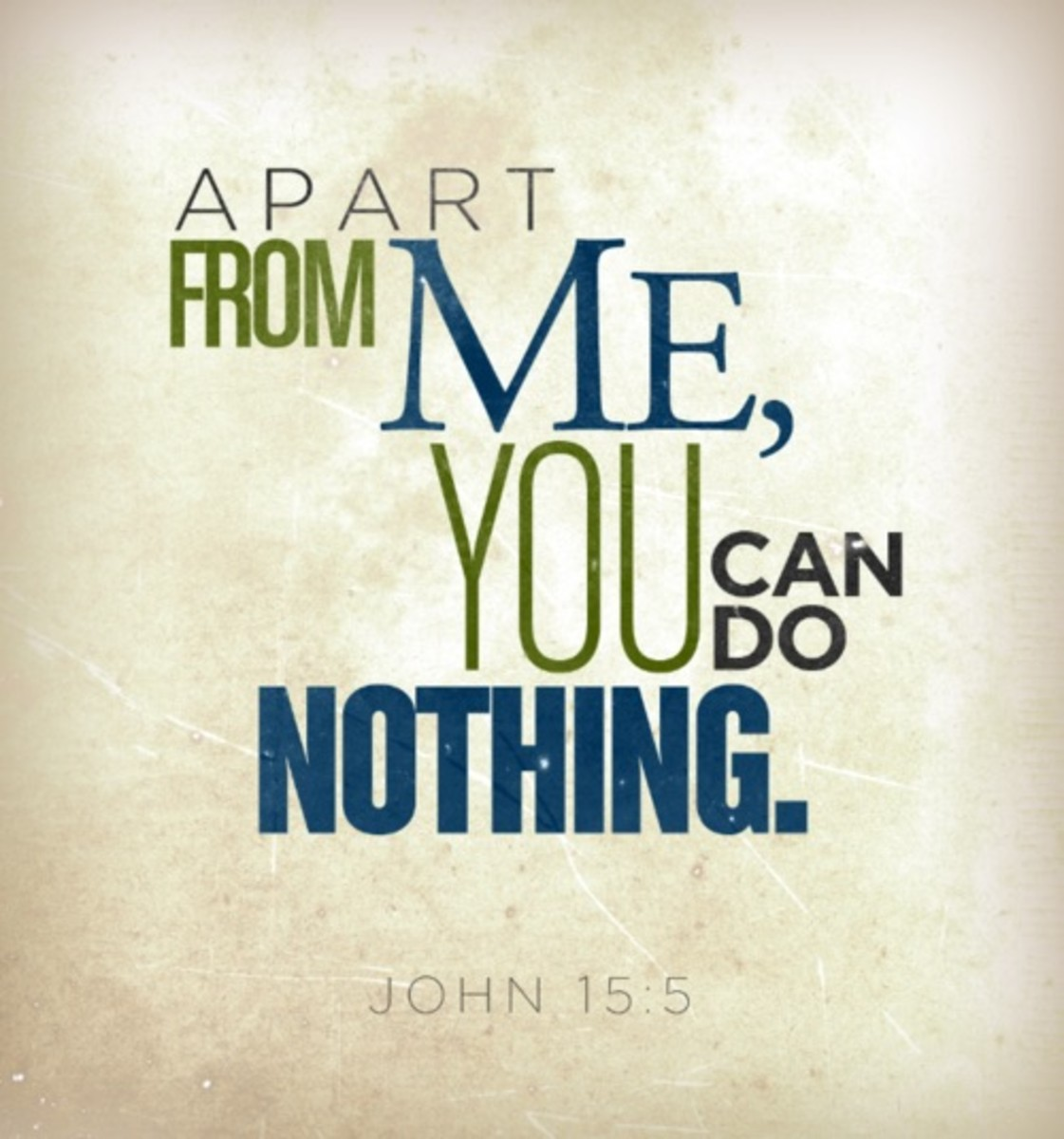 Apart From Christ
