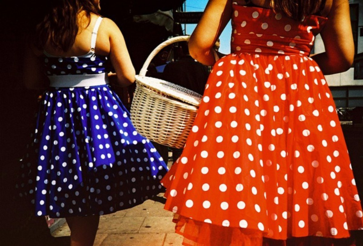 Wear those polka dots.
