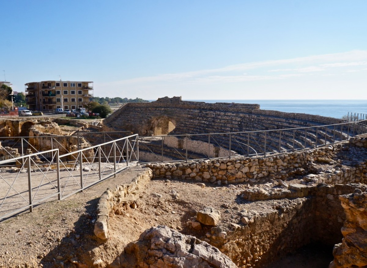 The Roman Ruins of Tarragona Spain