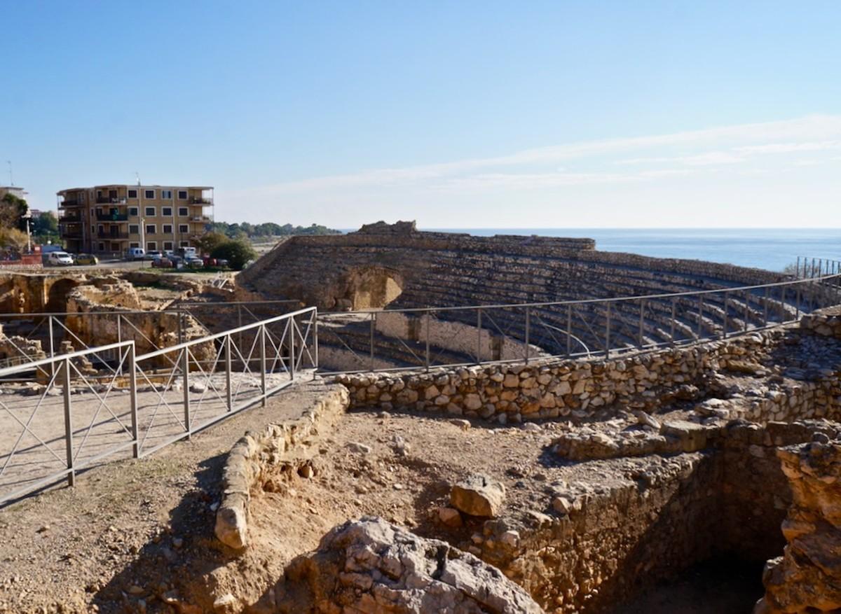 The Roman Ruins of Tarragona Spain
