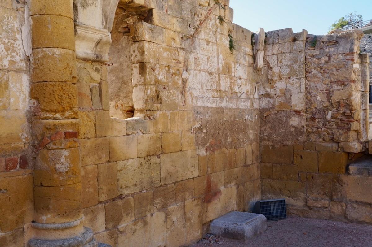 Remains of a Visigoth Basilica