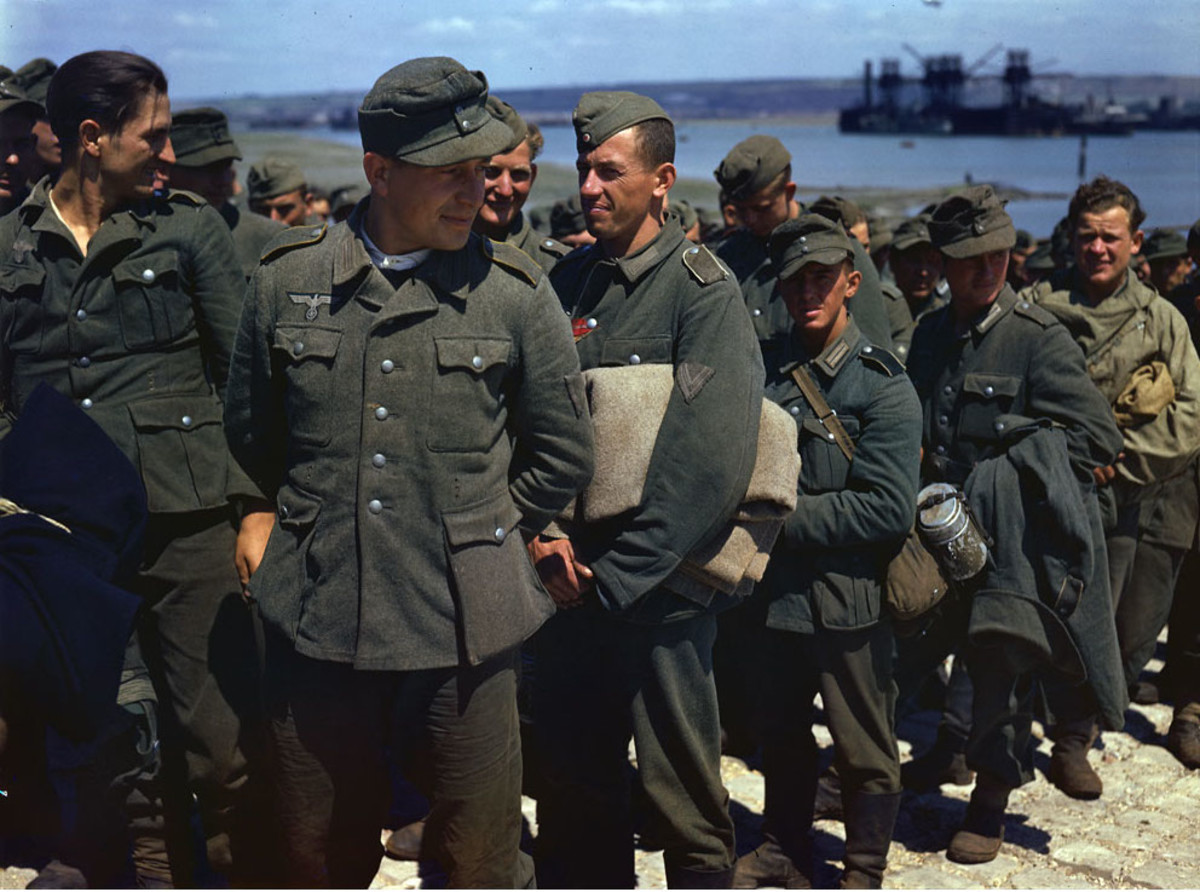 German prisoners of War.