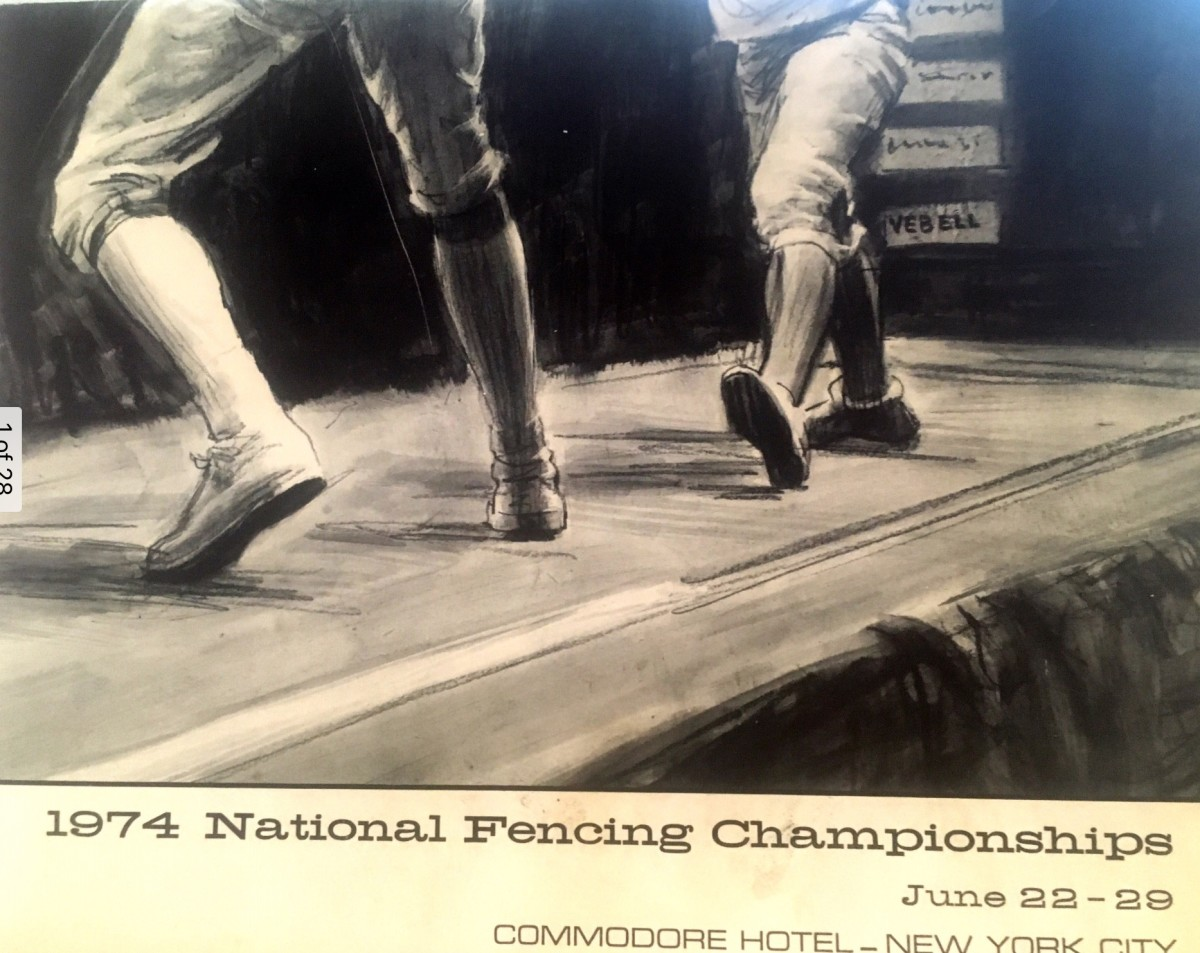 1974 National Fencing Championship